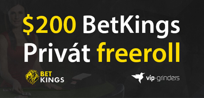 $200 Exkluzív BetKings Freeroll