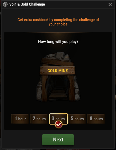 Spin&Gold Challenge