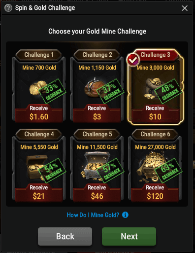 Spin&Gold Challenge - GG Spin